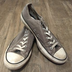 Converse All Star low grey double tongue